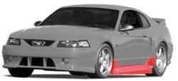 Roush Performance - Ford Mustang Roush Performance Side Skirt for Side Exhaust - 69010
