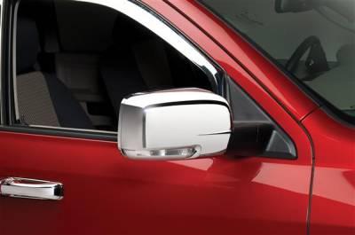 Putco - Dodge Ram Putco Mirror Overlays - 400501
