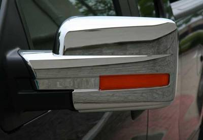 Putco - Ford F150 Putco Mirror Overlays - 400502