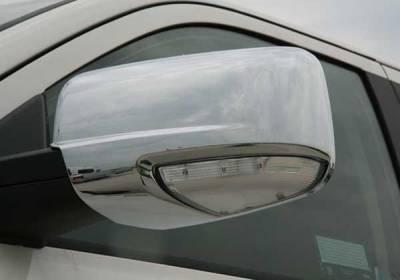 Putco - Dodge Ram Putco Mirror Overlays - 400505
