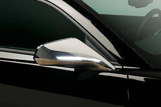 Putco - Chevrolet Camaro Putco Mirror Overlays - 400604