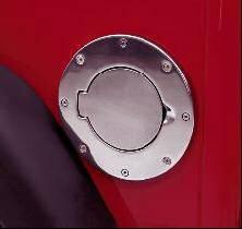 Rampage - Chevrolet Silverado Rampage Billet Style Fuel Door - 75017