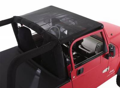 Rampage - Jeep Wrangler Rampage Mesh Island Topper with Pocket - 91807