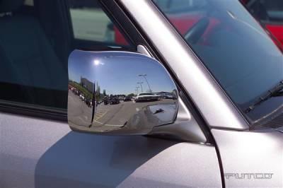Putco - Toyota Land Cruiser Putco Mirror Overlays - 402008