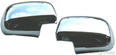 Putco - Toyota Tacoma Putco Mirror Overlays - 402022