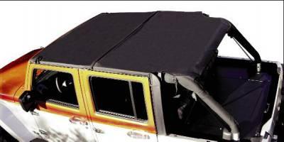 Rampage - Jeep Wrangler Rampage Combo Brief & Topper - Black Diamond - 94735