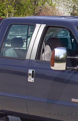Putco - Ford F250 Superduty Putco Decorative Classic Pillar Posts without Accents - 402600