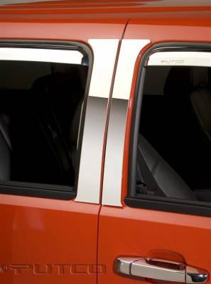 Putco - GMC Sierra Putco Decorative Classic Pillar Posts without Accents - 402607