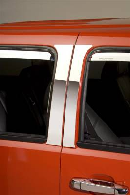 Putco - Chevrolet Tahoe Putco Decorative Classic Pillar Posts without Accents - 402612