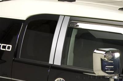 Putco - Toyota FJ Cruiser Putco Decorative Classic Pillar Posts without Accents - 402622