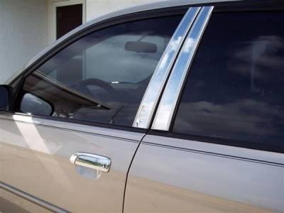 Putco - Honda Civic 4DR Putco Decorative Classic Pillar Posts without Accents - 403117