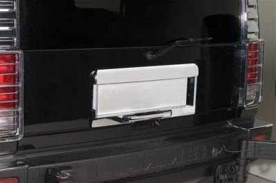 Putco - Hummer H2 Putco Rear License Frame - 403405