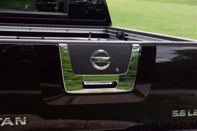 Putco - Nissan Titan Putco Rear Handle Covers - 403410