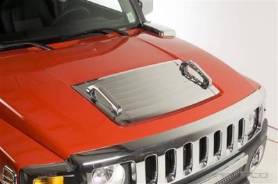 Putco - Hummer H3 Putco Chrome Hood Deck Vent - 403506