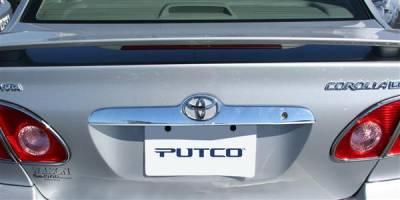 Putco - Toyota Corolla Putco Rear Handle Covers - 403621