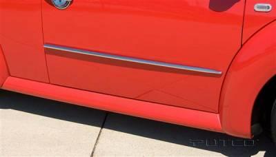 Putco - Volkswagen Beetle Putco Body Side Molding - ABS Plastic - 403643