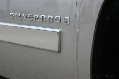 Putco - Chevrolet Silverado Putco Body Side Molding - ABS Plastic - 403689