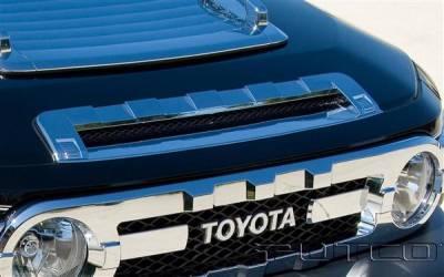 Putco - Toyota FJ Cruiser Putco Chrome Front Hood Scoop - 403914
