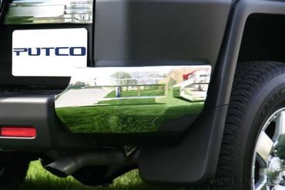 Putco - Toyota FJ Cruiser Putco Chrome Rear Bumper Corners - 404208