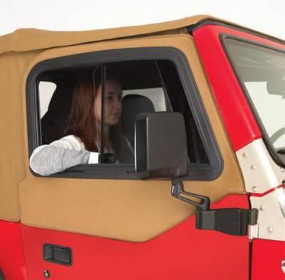 Rampage - Jeep Wrangler Rampage Front Door Top Slider - 919336