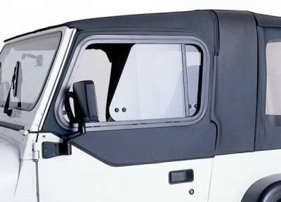 Rampage - Jeep Wrangler Rampage Rear Door Top Sliders - Khaki - 919436