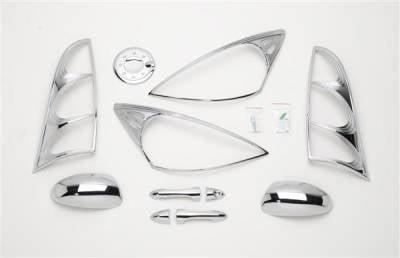 Putco - Ford Focus Putco Exterior Chrome Accessory Kit - 405069