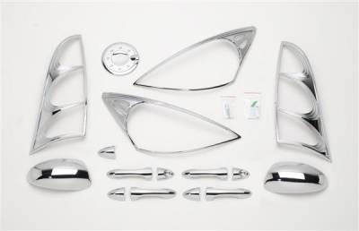 Putco - Ford Focus Putco Exterior Chrome Accessory Kit - 405070