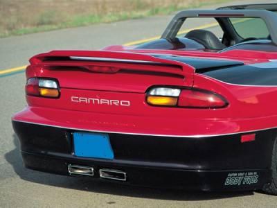 RKSport - Chevrolet Camaro RKSport Rear Valance with Center Exhaust - 01011006
