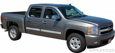 Putco - Chevrolet Silverado Putco Exterior Chrome Accessory Kit - 405082