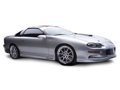RKSport - Chevrolet Camaro RKSport CA-800 Ground Effects Package with Center Exhaust Opening - 01018060