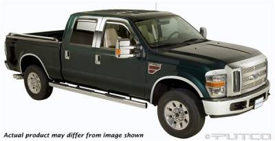 Putco - Ford F250 Superduty Putco Exterior Chrome Accessory Kit - 405410