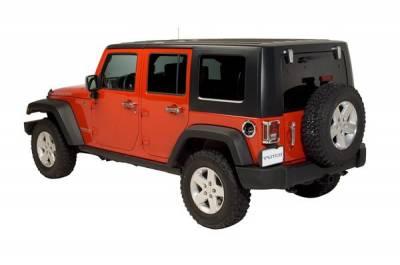 Putco - Jeep Wrangler Putco Exterior Chrome Accessory Kit - 405415