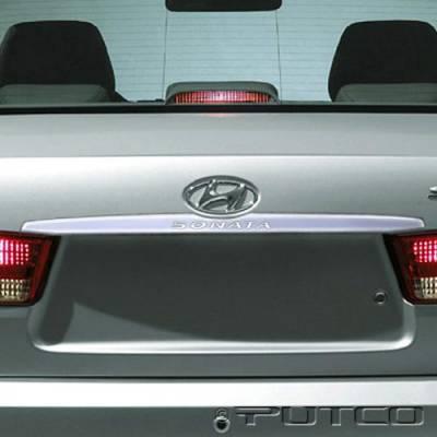 Putco - Hyundai Sonata Putco Chrome Rear Accent - 408609