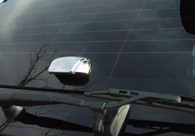 Putco - Kia Sorento Putco Chrome Rear Hinge Covers with Flip Up Glass Cover - 409307