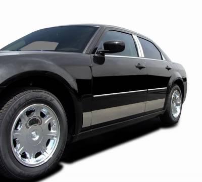 ICI - Chevrolet Cavalier 4DR ICI Rocker Panels - 8PC - C0604-304M