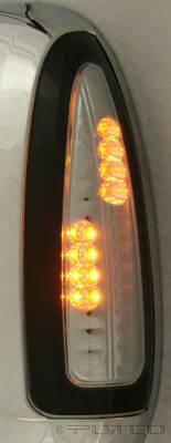 Putco - Ford F350 Superduty Putco LED Mirror Replacements - Smoke - 920306
