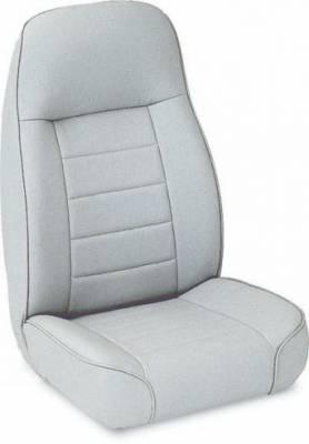 Rampage - Jeep Wrangler Rampage Standard Front Seat - Grey Denim - 5044911