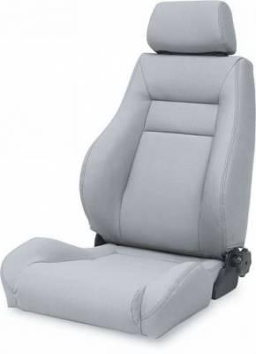 Rampage - Jeep CJ Rampage Ultrasport Seat - Grey - 5049511