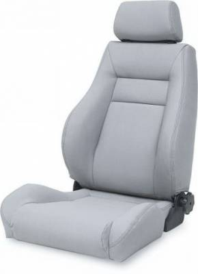 Rampage - Jeep CJ Rampage Ultrasport Seat - Black - Denim Black - 5049515