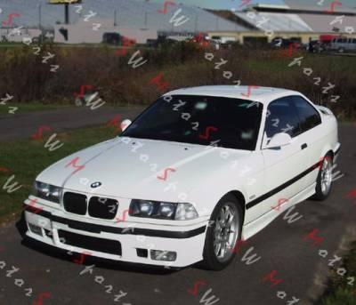 OEM - BMW E36 M3 FRONT BUMPER LIP (POLYURETHANE)