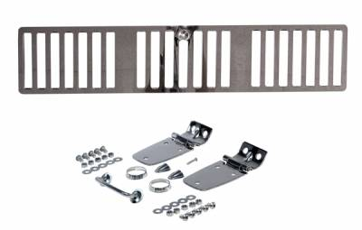 Omix - Rugged Ridge Hood Kit - Stainless Steel - 11101-02