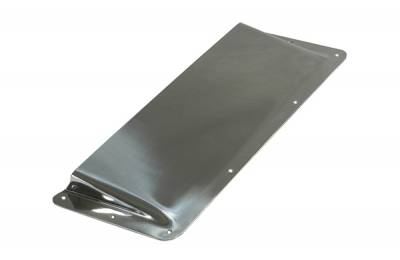 Omix - Rugged Ridge Air Scoop - Stainless Steel - 11130-01