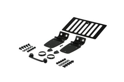 Omix - Rugged Ridge Hood Set - Black - 11201-02