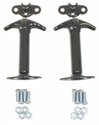Omix - Rugged Ridge Hood Catch - Vertical Mount - Pair - Black - 11210-02