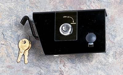 Omix - Rugged Ridge Hood Lock Kit - No-Drill - Comes with 2 Keys - 11252-04