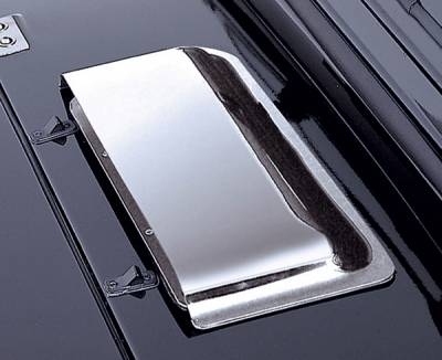 Omix - Rugged Ridge Hood Scoop - Chrome - 11352-02