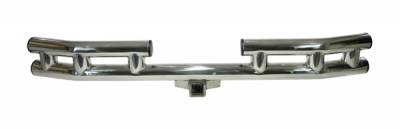 Omix - Rugged Ridge Rear Tube Bumper - Stainless - 11522-01