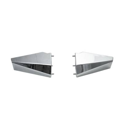 Omix - Rugged Ridge Heavy Duty Bumper with Front Armor - Stainless Steel - 11540-19