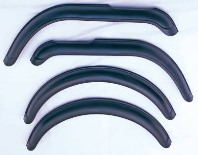 Omix - Omix Fender Flare Kit with Hardware - 4 Pieces - 11601-01