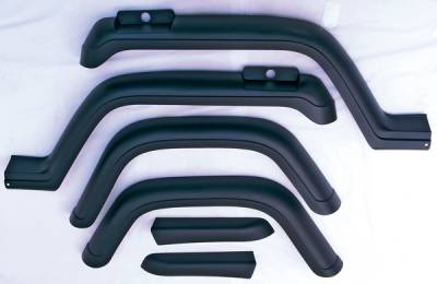 Omix - Omix Fender Flare Kit - 6 Piece - 11602-01